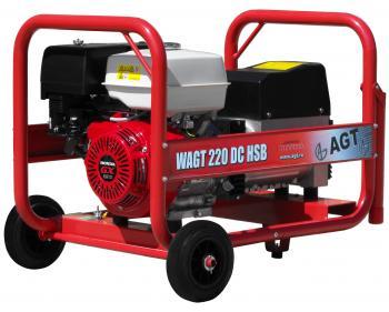 WAGT 220 DC HSB RR Generator sudura industrial 200 A DC