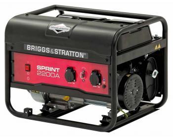 Sprint 2200A Briggs&Stratton  Generator de curent electric pe benzină monofazat , putere maxima 2200 W , rezervor 11 litri