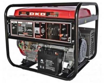 DKD LB 8000 E Dakard Generator de curent monofazat cu pornire electrica sau manuala , cod DKDLB8000E