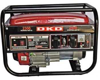 DKD LB 2800 Dakard Generator de curent monofazat cu sistem de pornire manual si putere maxima 2.5 kw, cod DKDLB2800