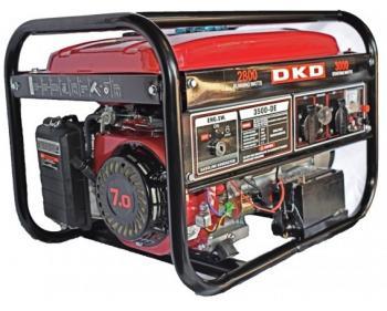 DKD LB 3500 E Dakard Generator monofazat cu pornire electrica si putere 3 kw , cod DKDLB3500E