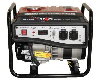 1250 Senci Generator curent , putere nominala 1 kVA , tip motor SC156F , tip alternator AVR cu perii