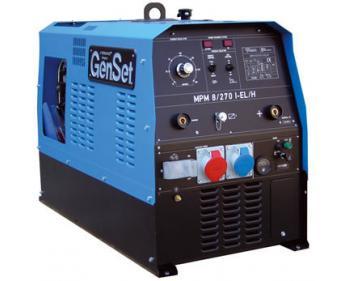 MPM 8/270 I-EL-H Generator sudura 270 A  Genset