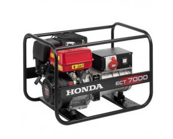 ECT 7000 Este un Generator curent electric Honda cu o putere de 7 kVA trifazat