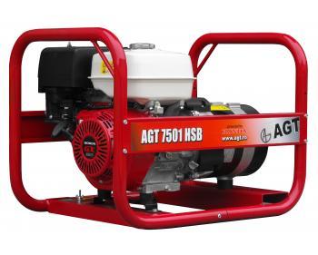 AGT 7501 HSB RR generator curent Honda