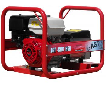 AGT 4501 HSB Generator curent Honda