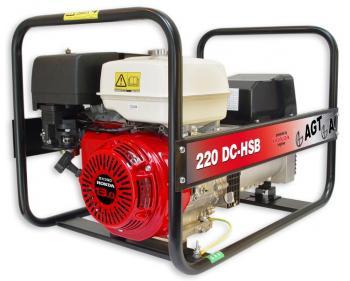 WAGT 220 DC HSB  SE Generator de sudura Honda