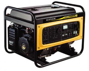 KGE 6500 E 3  Kipor  Generator de curent trifazat , putere maxima 6 kVA