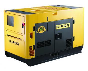 KDE 11 SS Kipor Generator insonorizat , putere motor 9.5 kVA