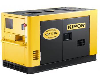 KDE 12 STA  Generator  insonorizat  Kipor