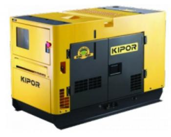 KDE 9000 SS Kipor Generator de curent monofazat , putere motor 6.6 kVA