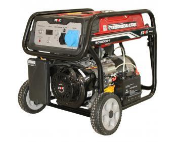 SC 5000 E Senci Generator curent electric , putere nominala 4.5 kVA , tip motor OHV , capacitate cilindrica 337 cmc