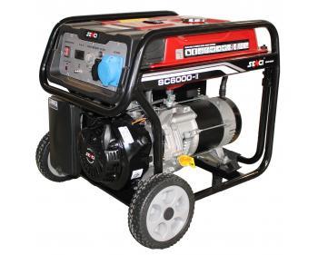 SC 6000 Senci Generator curent electric , putere nominala 5.5 kVA , tip motor OHV , capacitate cilindrica 389 cmc