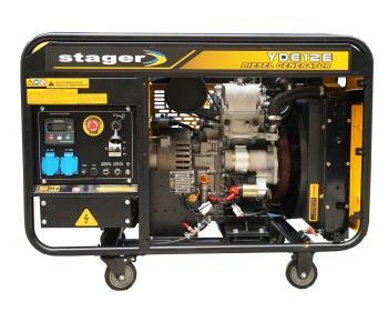 YDE12E  Stager Generator insonorizat 12 kVA  , silent 1500rpm , diesel , monofazat