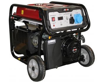 SC 6000 E Senci Generator curent electric , putere nominala 5.5 kVA , tip motor OHV , capacitate cilindrica 389 cmc