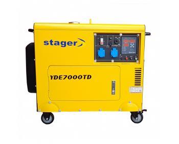 YDE7000TD  Stager Generator de  curent 4.5 kVA ,  diesel , monofazat