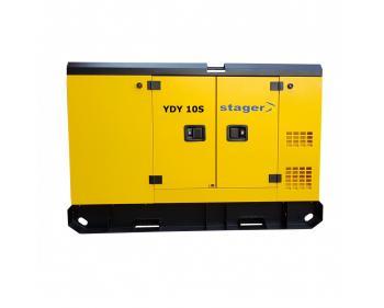 YDY10S Stager Generator de curent insonorizat , silent 1500rpm , diesel , monofazat