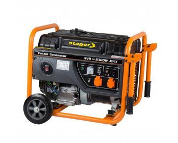 GG 7300 EW Generator curent Stager 6300 W , rezervor 25 l