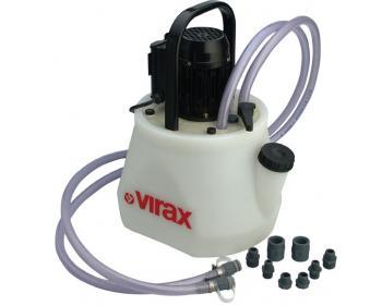 Pompă de detartrare și îndepărtare a nămolului din radiatoar si incalzirea pt eliminarea zoneloe reci  Virax , cod 262035