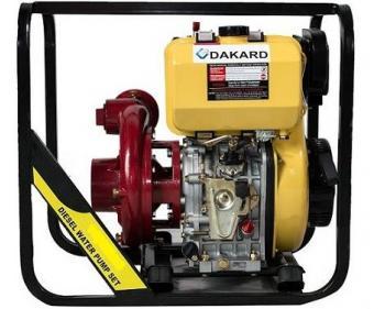 HP-80 DI Dakard Motopompa de apa curata ,  Diesel  , putere 9 CP , Debit refulare 39 m3/h
