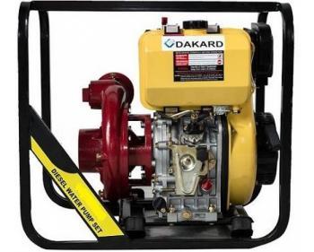 HP 100 DI Dakard Motopompa de apa curata ,  Diesel
