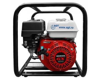 Motopompa de presiune Honda AGT WHP 20 HX , motor 6.5 cp , debit 500 l/min