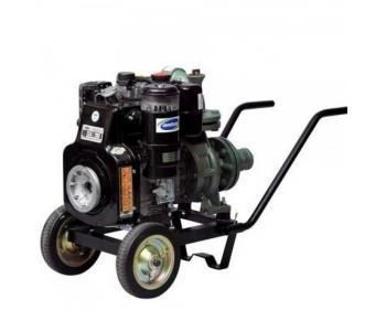 3LS 510 LK-4 ES Antor Motopompa apa semi-murdara , pornire electrica , motor 12 Cp