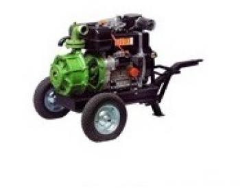 9LD 625-2 ROVATTI R626 Lombardini Motopompa apa semi-murdara , motor  Diesel , putere 5 CP , debit 145 mc/h