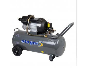 HM3100V Stager Compresor   ,putere motor 2.2 kW , capacitate rezervor 100L