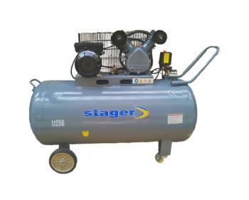 HM-V-0.25/250L Stager Compresor aer industrial , putere motor 2.2 kW , capacitate rezervor 250L