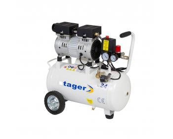 HM24JW Stager Compresor aer silentios , putere motor 0.5 kW , capacitate rezervor 110L