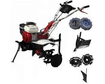 MS 7100 CF Motosapa Pachet BASIC,motor 7 cp ,Latime de lucru 110 cm,plug de bilonat,roti pneumatice ,reglarea adancimii de lucru