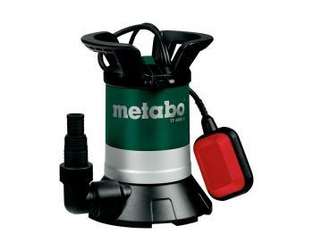 TP 8000S Pompa submersibila de drenaj apa curata Metabo ,   inaltime de refulare 7 m , debit 8000 l/min , putere 350 W , cod 0250800000