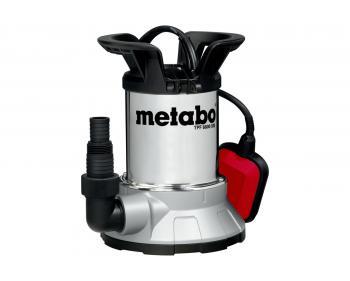 TPF 6600 SN Pompa submersibila de drenaj apa curata Metabo ,   inaltime de refulare 5 m , debit 6600 l/min , putere 450 W , cod 0250660006