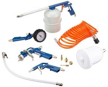 Kit aer 8 buc Scheppach Set accesorii compresor aer , cod 3906100723
