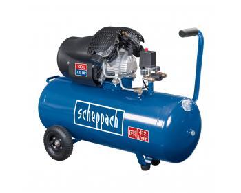 HC 100DC Scheppach  Compresor cu piston , putere 2.2 kW , debit 412 l/min