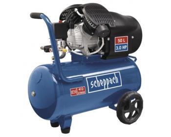 HC 52DC Scheppach  Compresor cu piston , putere 2.2 kW , debit 412 l/min