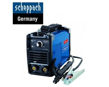 WSE 860 Scheppach  Aparat de sudare tip inverter , putere 85 V , poate suda-oţel, oţel inoxidabil, fontă, metale neferoase