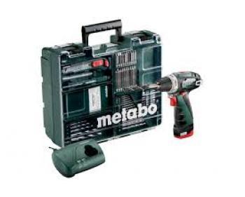 Powermaxx BS Set  Metabo  Masina gaurit insurubat cu 1 acumulator 2 Ah , 10.8 V
