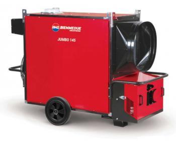 Generator de aer cald JUMBO 145 M Biemmedue fara arzator , cod 02 AG141