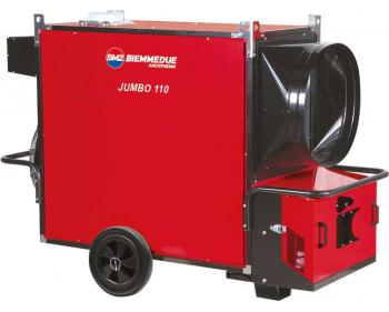 Generator de aer cald JUMBO 110 M Biemmedue  fara arzator , cod 02 AG131