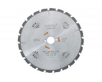 Pânză ferăstrău circulară  Metabo HW / CT 315 x 30, 24 WZ 20 ° (628016000)