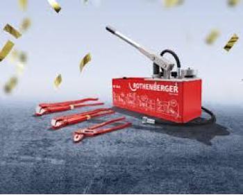 Pompa testare presiune instalatii RP 50-S Rothenberger 1000002686, presiune maxima 60 bar  si SET Clesti Economy , cod 70140x