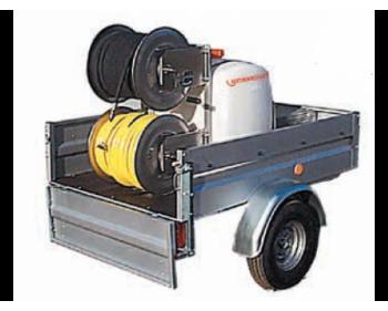 76300 Masina de spalat cu presiune tip Rojet 30/130 Lehmann,putere motor 9.5 kW , presiune 130 bar , debit 30 l/min
