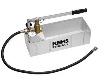 Pompa verificare presiune instalatii Rems Push Inox  , cod 115001 , presiune 60 Bar