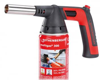 Lampa gaz ROFLAME 4 Piezo cu butelie Multigas 3000 Rothenberger , cod 1000002360
