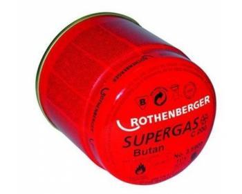C200 Supergaz/190 ml- Cartus de gaz cu valva tip membrana Rothenberger , cod 35901-B