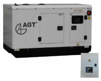 Generator curent trifazat AGT 276 DSEA ATS , putere motor 275 kVA , diesel , bujii incadescente si preincalzire lichid