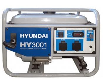 Generator de curent monofazic 2.8 kW Hyunday si tensiune 230 V  , HY3001