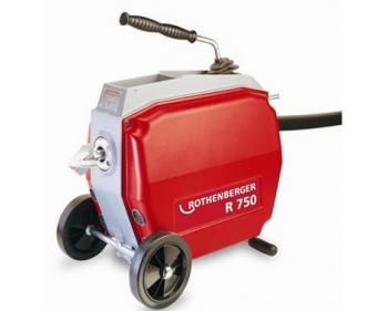 Masina de desfundat canalizare R 750 Rothenberger 72689 , diametru 20-200 mm